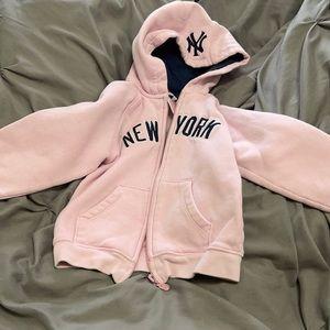 Toddler NY Yankees hoodie 3t